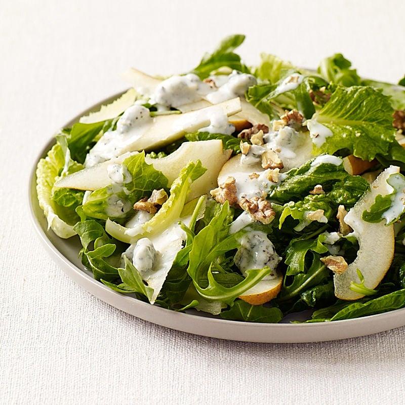 Photo de Salade verte à la poire et au Gorgonzola prise par WW