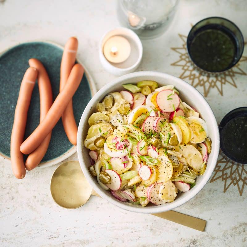 Foto Kartoffelsalat mit Wienerli von WW