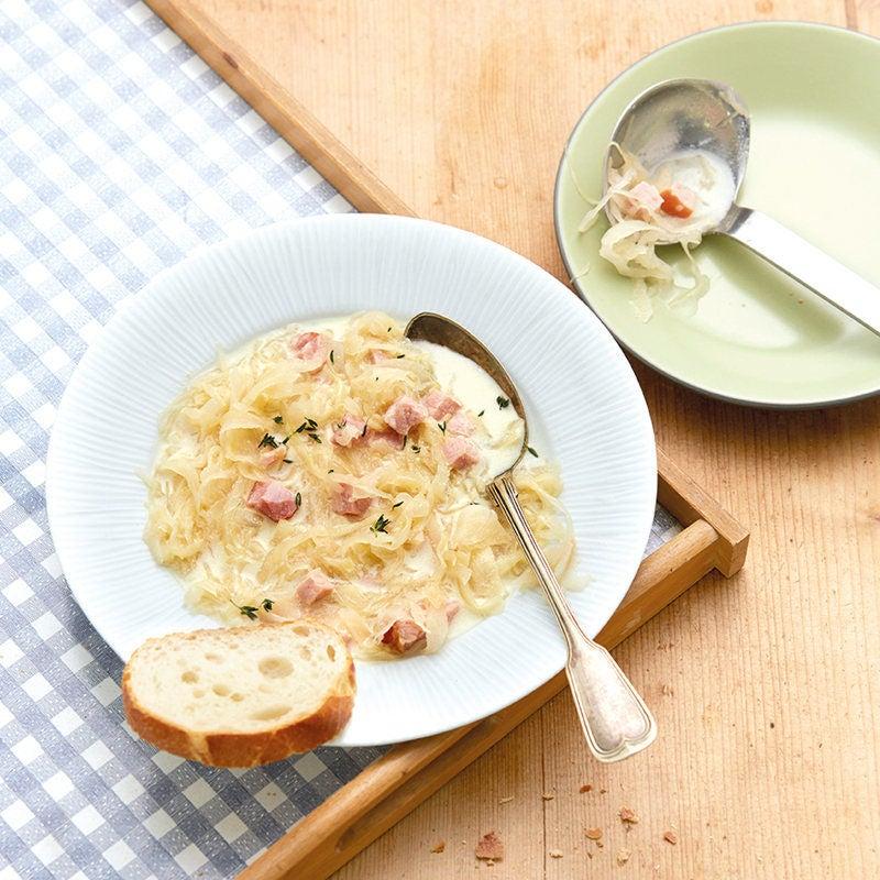 Foto Sauerkrautsuppe mit Rippli von WW