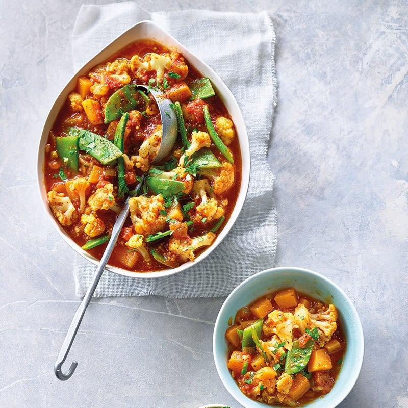 Photo de Curry de chou-fleur et patates douces prise par WW