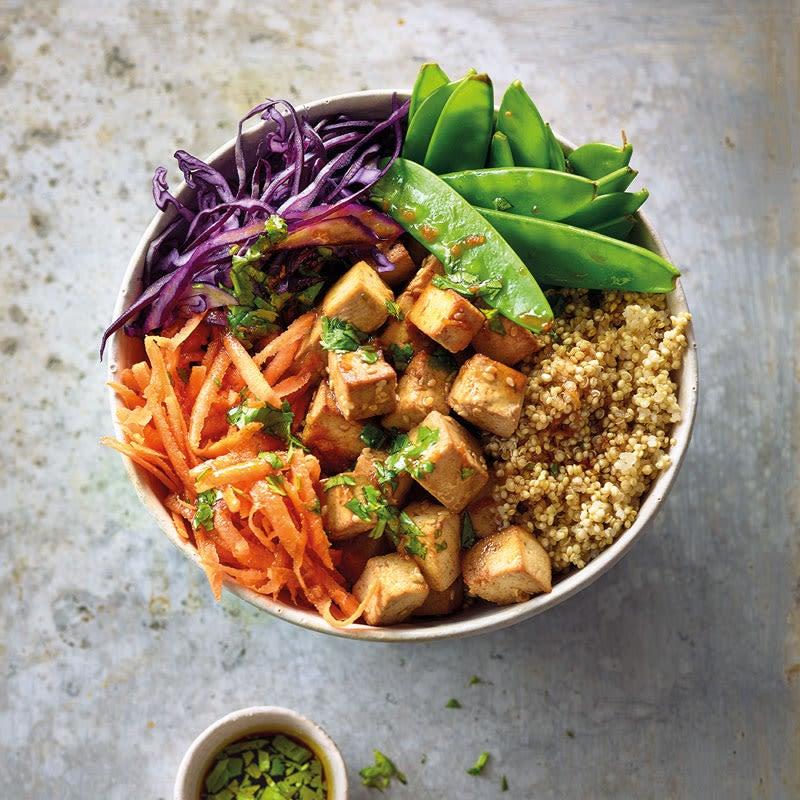 Photo de Bowl quinoa-tofu sauce asiatique prise par WW