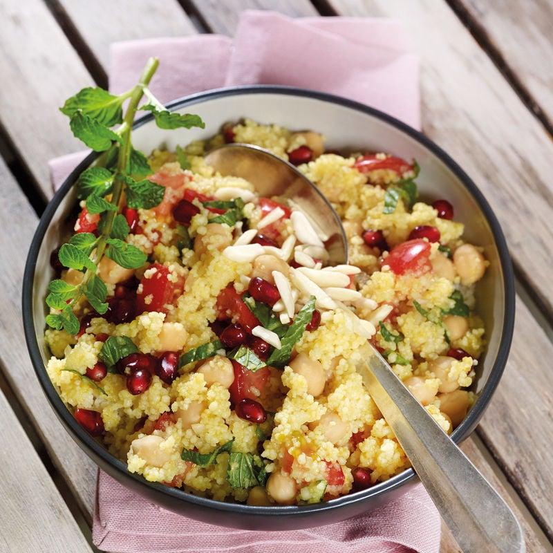 Foto Orientalischer Couscous-Kichererbsen-Salat von WW