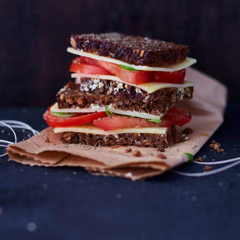 Photo de Pain au fromage et tomates prise par WW