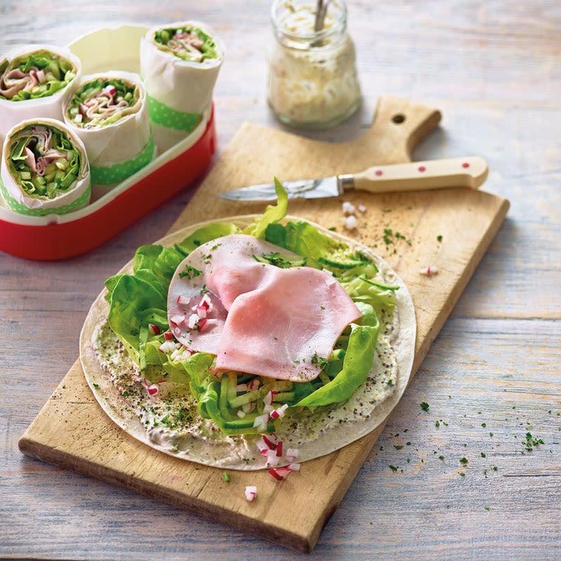 Photo de Tortilla de légumes et de jambon prise par WW