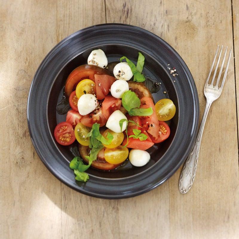 Photo de Salade de tomates à la mozzarella prise par WW