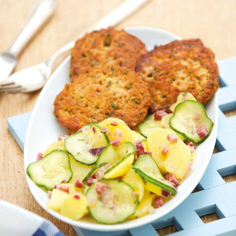 Foto Kartoffel-Gurken-Salat mit Brottätschli von WW