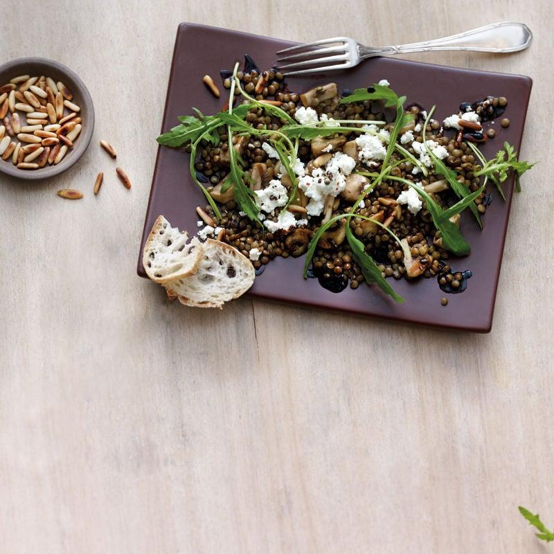 Photo de Salade de lentilles aux champignons prise par WW