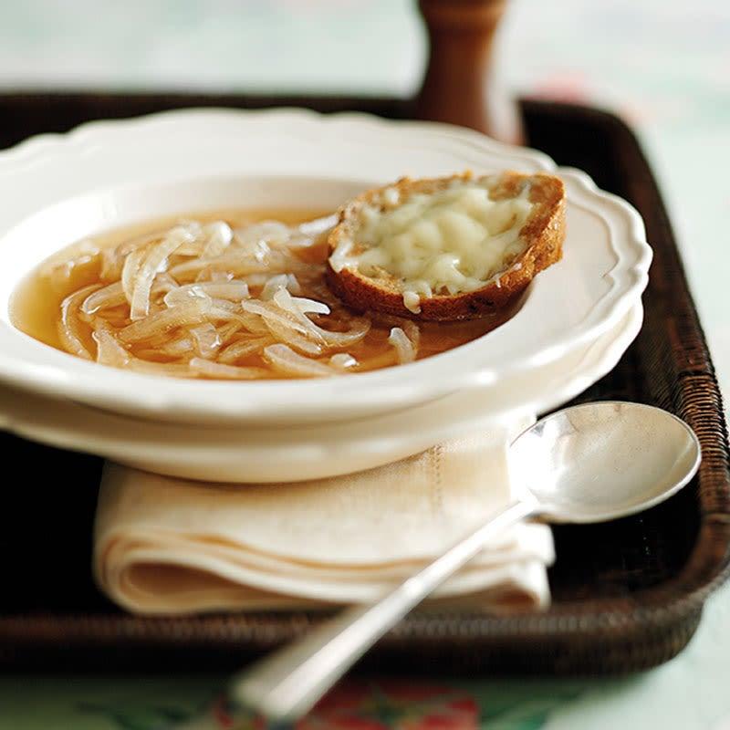 Photo de Soupe bretonne aux oignons prise par WW