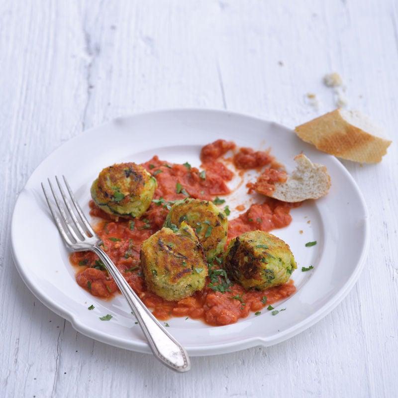 Photo de Bouchées de courgettes à la sauce tomate prise par WW