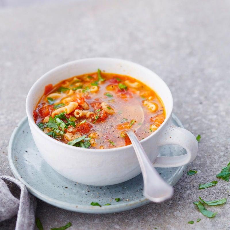 Photo de Soupe de cornettes et tomates prise par WW