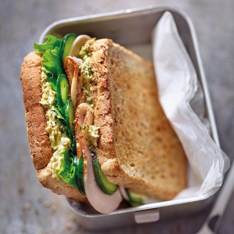 Photo de Sandwich volaille/lentilles au curry prise par WW