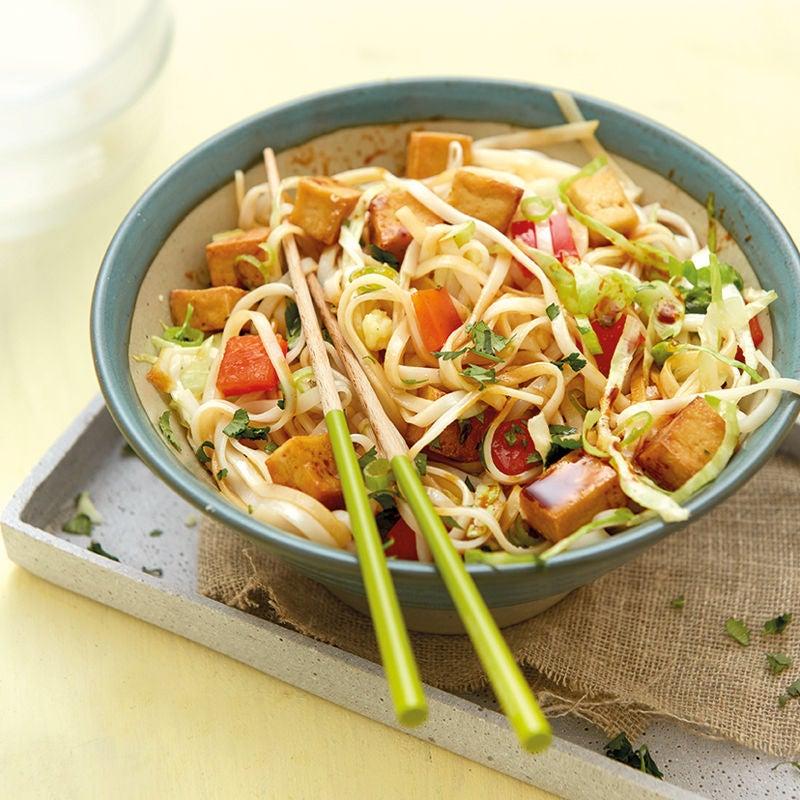 Photo de Salade de nouilles de riz au tofu prise par WW