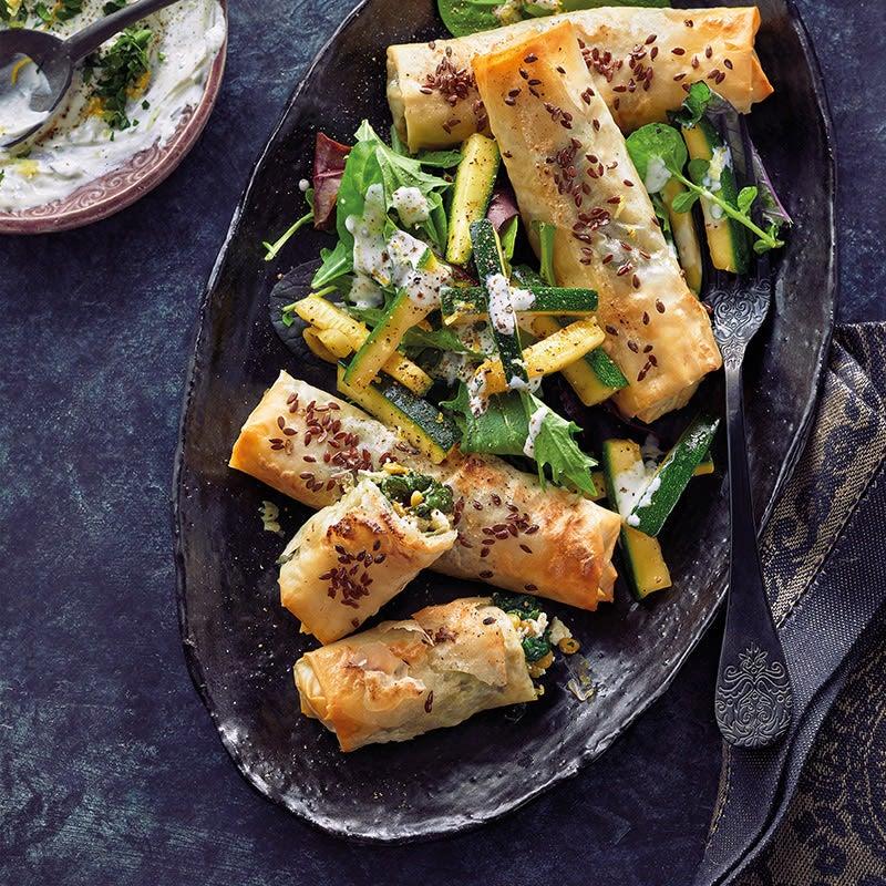 Foto Linsen-Feta-Börek mit Salat von WW