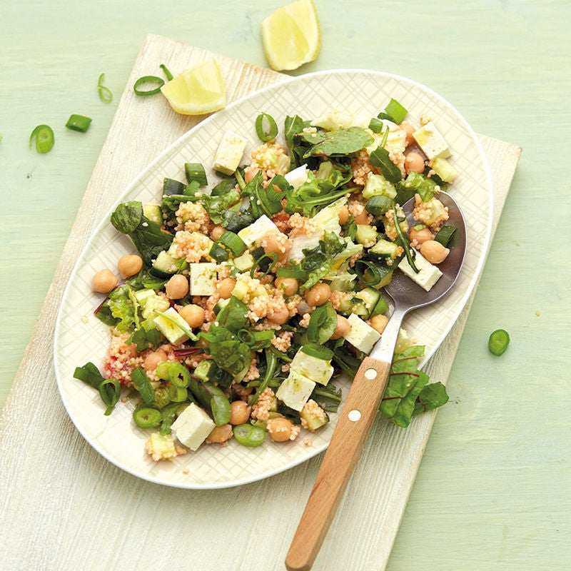 Photo de Salade de couscous aux pois chiches prise par WW