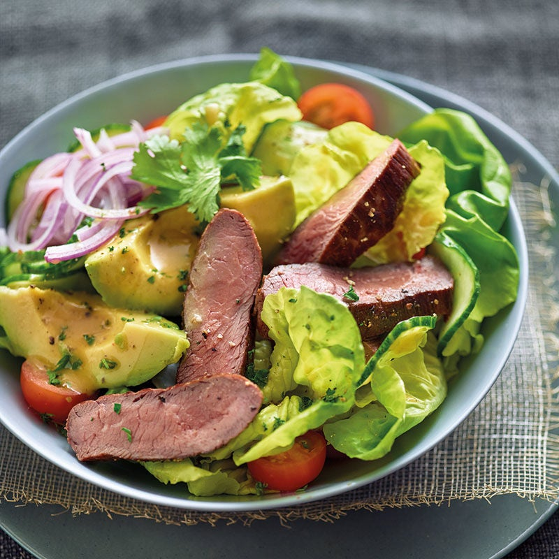 Foto Steak-Avocado-Salat von WW