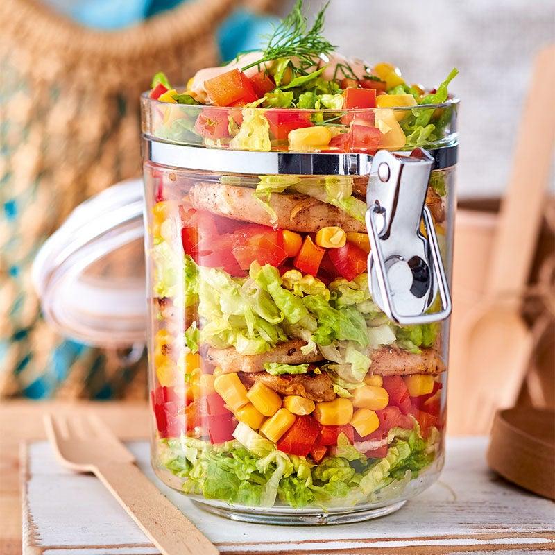 Photo de Salade de volaille en bocal prise par WW