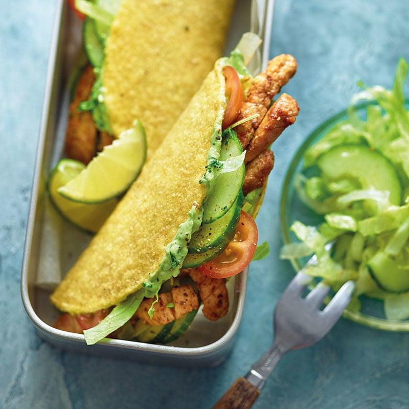 Photo de Tacos viande de porc/guacamole prise par WW