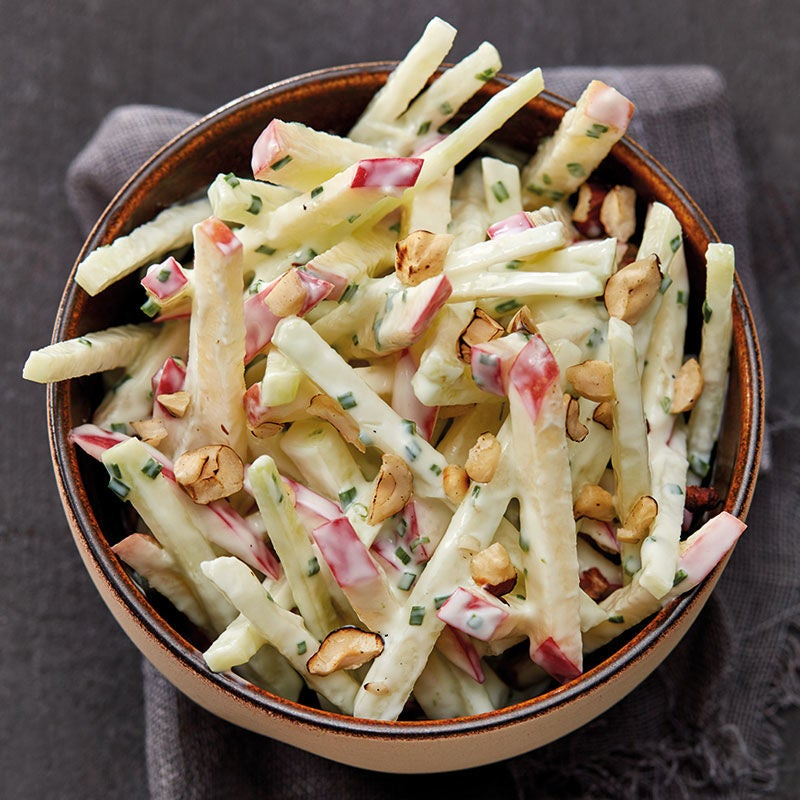 Foto Kohlrabi-Apfel-Salat mit Joghurtdressing von WW