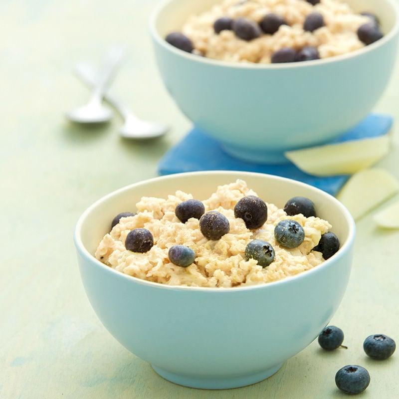Photo de Porridge aux myrtilles prise par WW