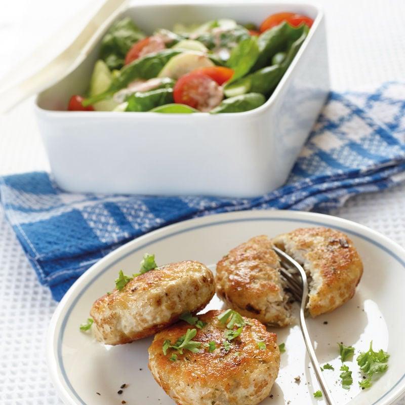 Photo de Fricadelles de dinde et salade d'épinards prise par WW