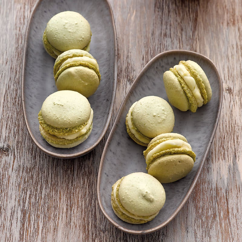 Photo de Macarons matcha au citron prise par WW