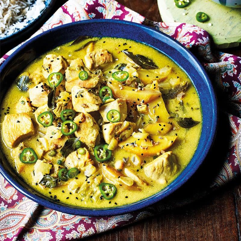Photo de Curry de poulet à la mangue prise par WW
