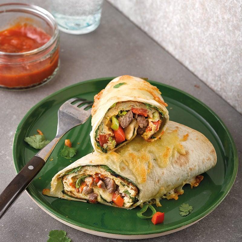 Foto Steak-Ei-Burrito von WW