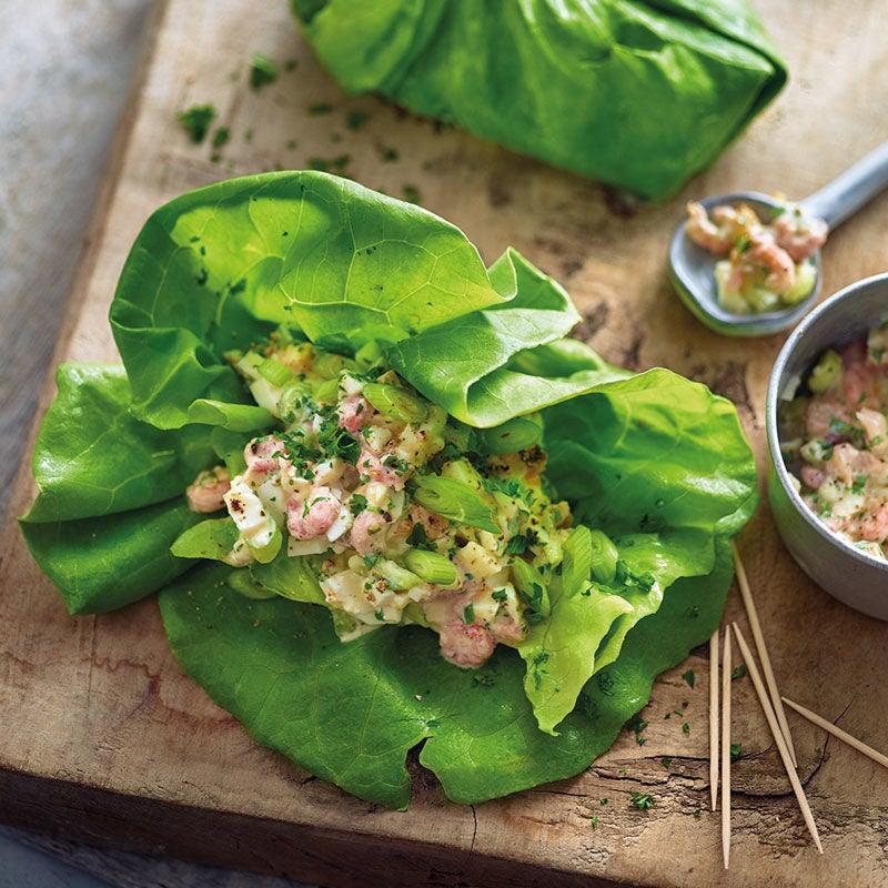 Photo de Wraps de salade aux crevettes prise par WW