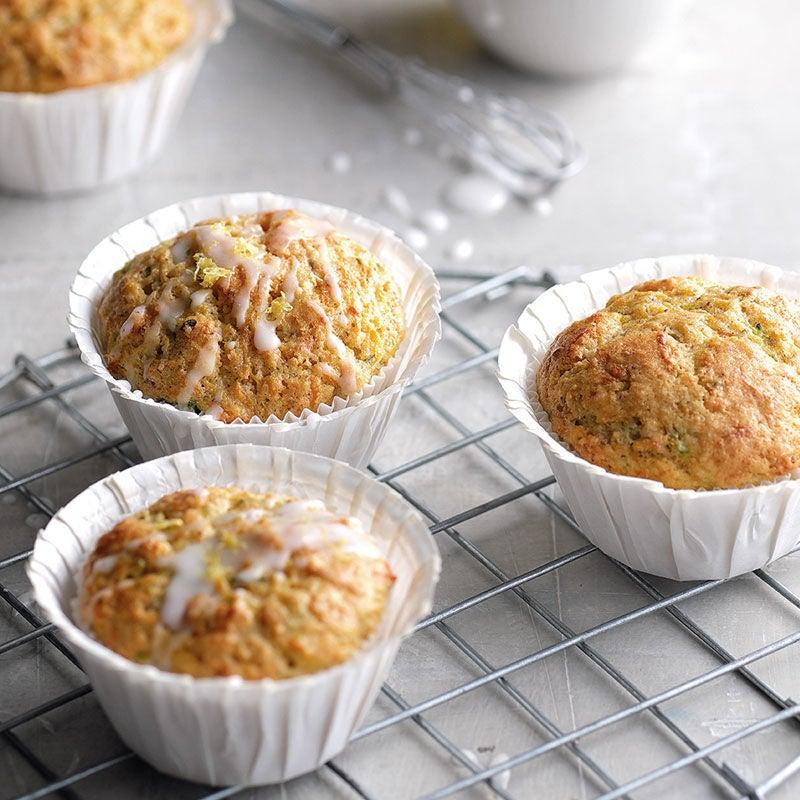 Photo de Muffins aux noisettes et glaçage au citron prise par WW
