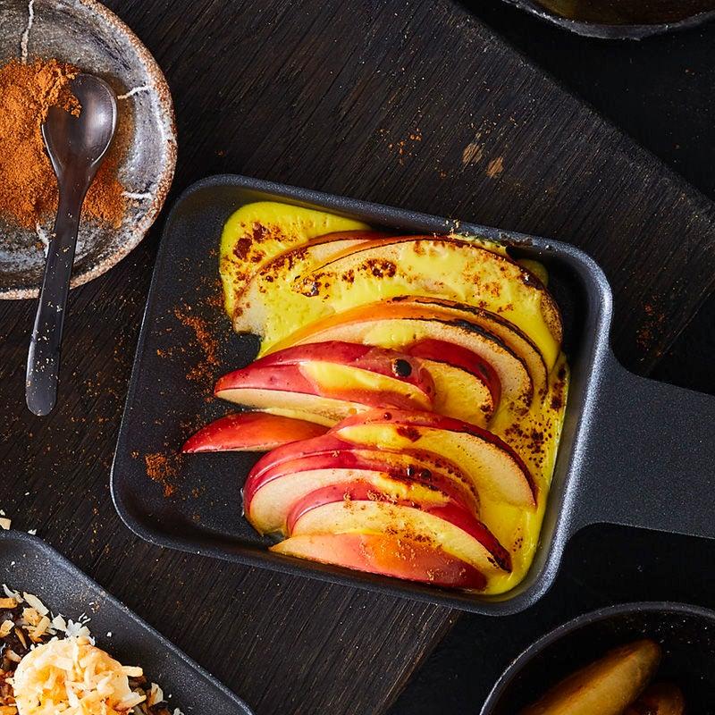 Photo de Poêlons de crème pomme-cannelle prise par WW