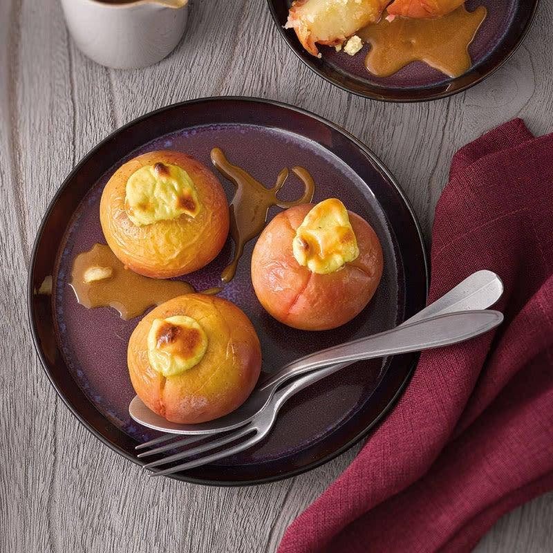 Foto Bratapfel mit Cheesecake-Füllung von WW