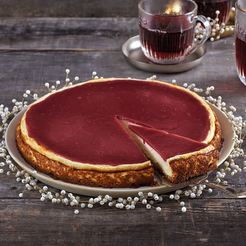Photo de Cheesecake au vin chaud prise par WW