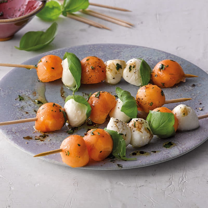 Foto Melonen-Mozzarella-Spiesse von WW