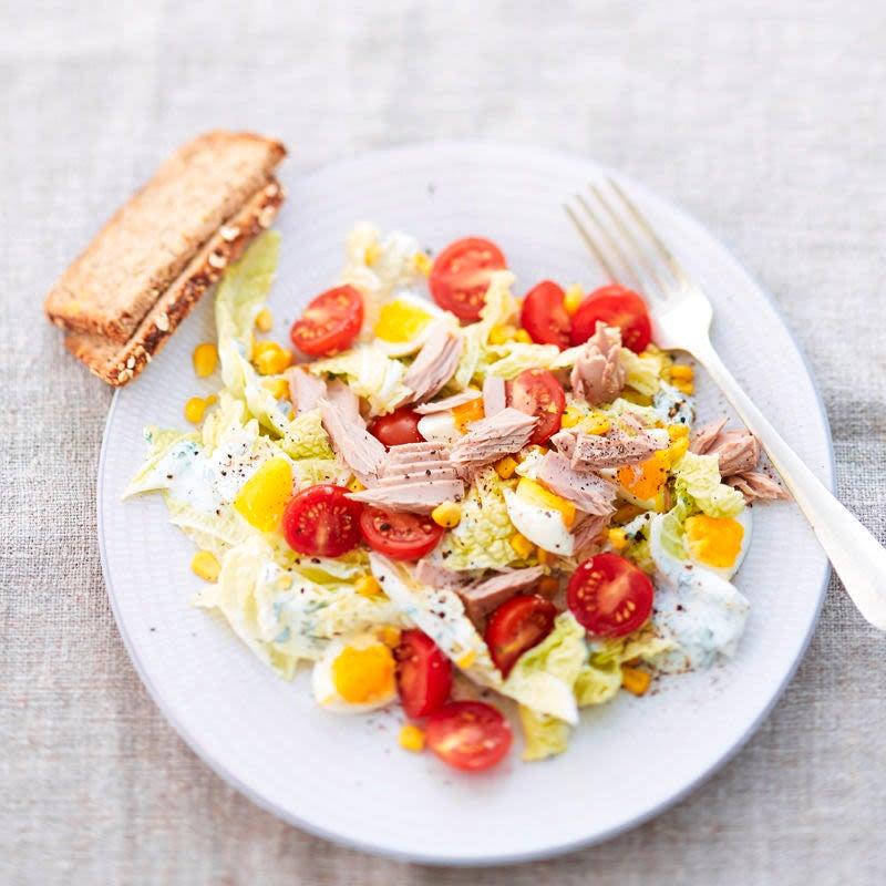 Photo de Salade de thon et oeuf prise par WW