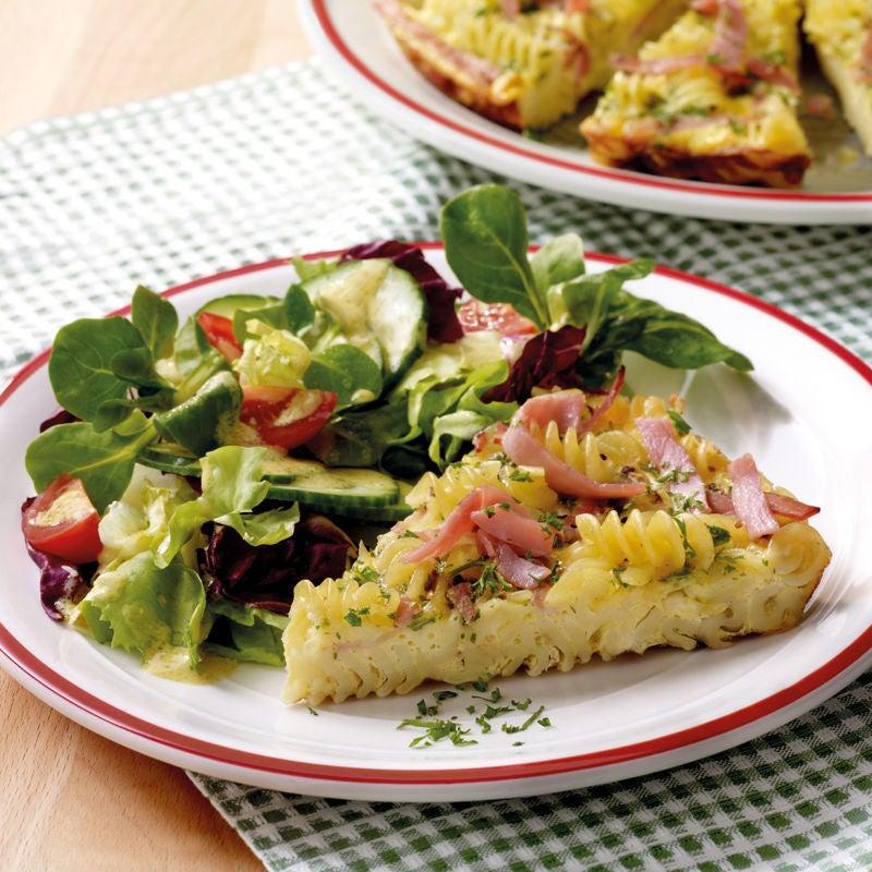 Foto Fusilliomelett mit Salat von WW