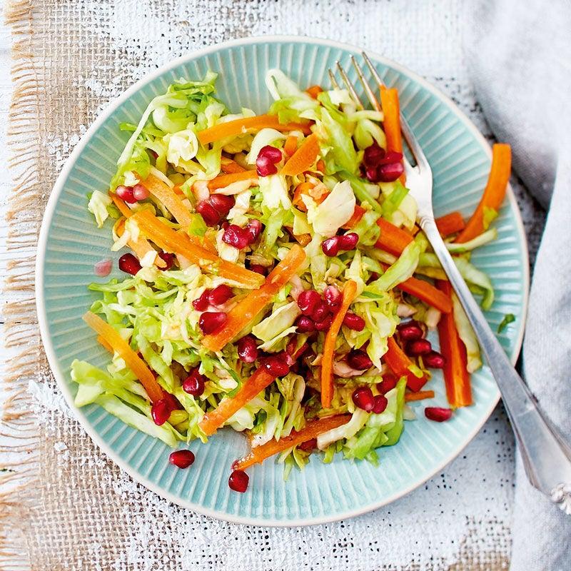 Foto Spitzkohl-Granatapfel-Salat von WW
