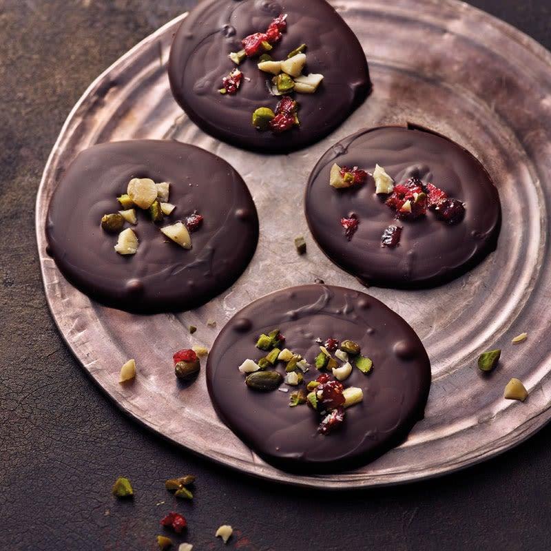 Photo de Palets de chocolat aux noix prise par WW