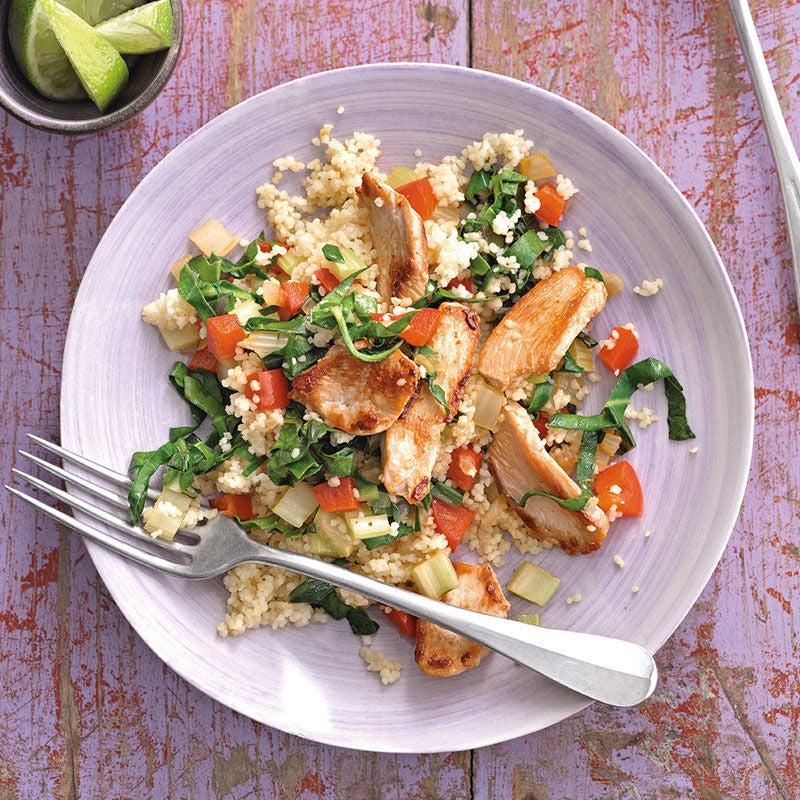 Photo de Couscous de légumes au poulet prise par WW