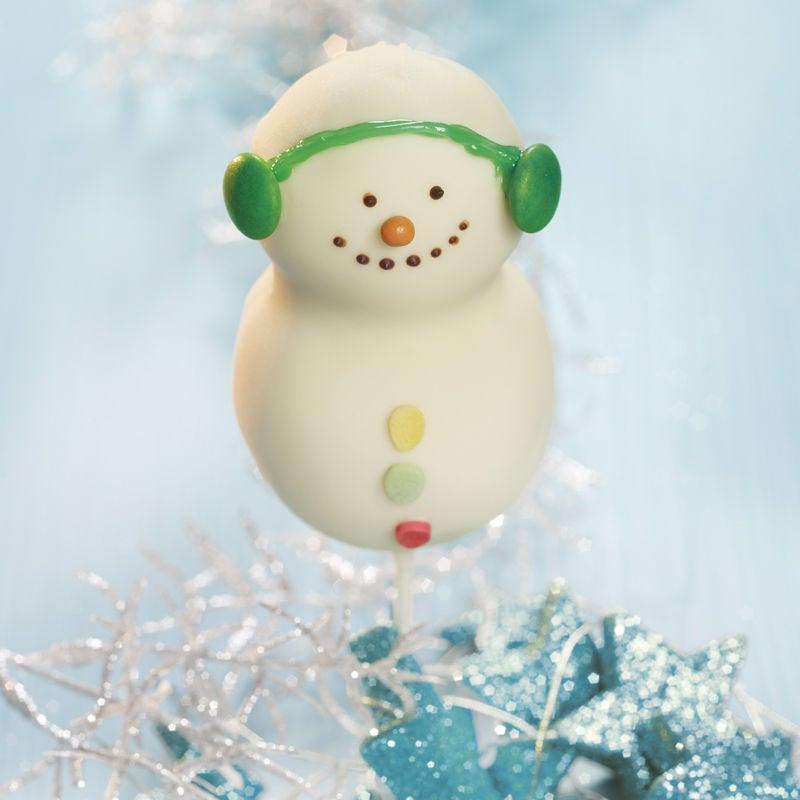 Photo de Cake pops bonshommes de neige prise par WW