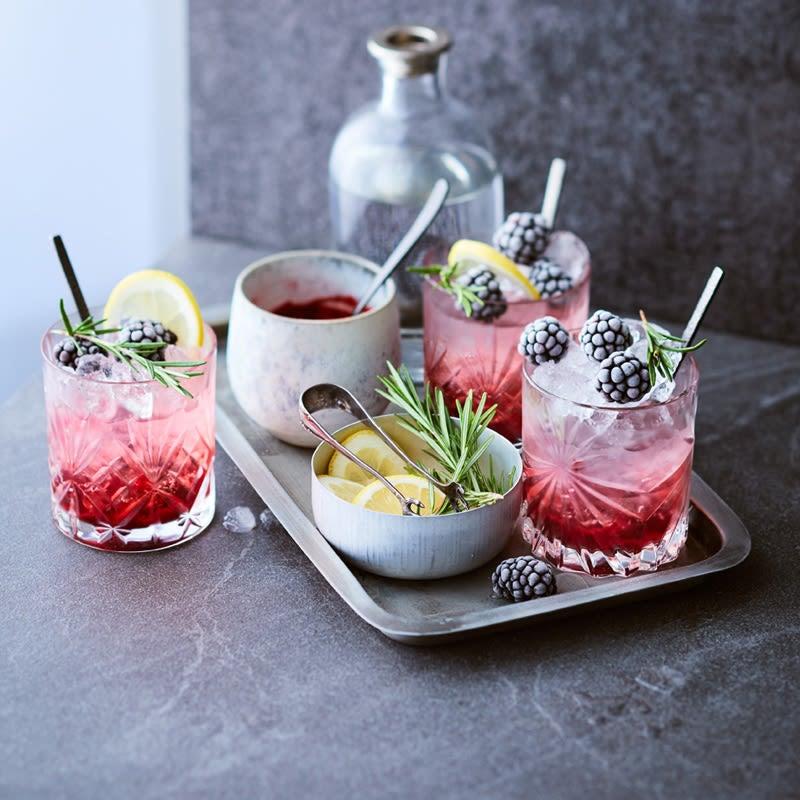 Photo de Gin-Tonic à la mûre prise par WW