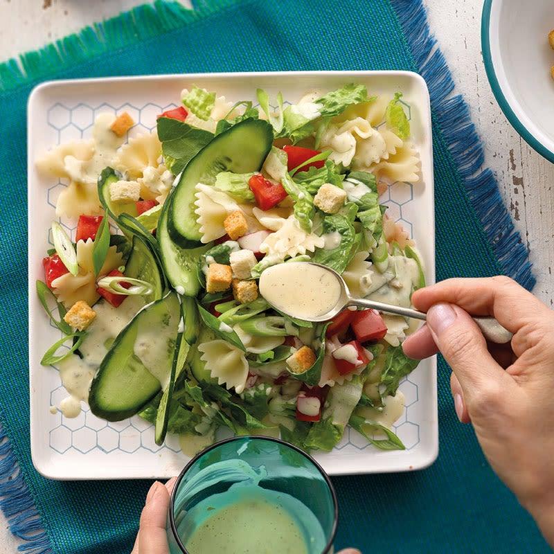 Foto Farfalle-Caesar-Salat von WW