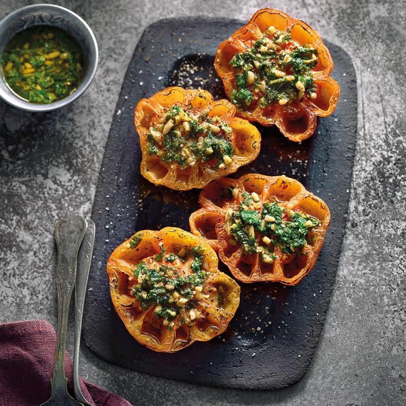 Photo de Tomates grillées aux pignons prise par WW