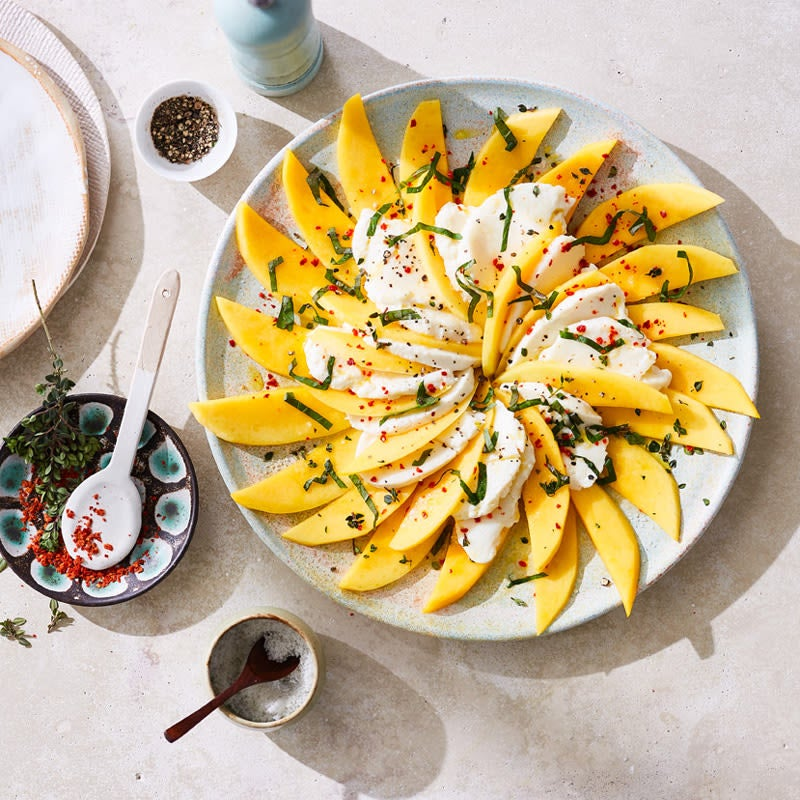 Photo de Salade mangue-mozzarella prise par WW