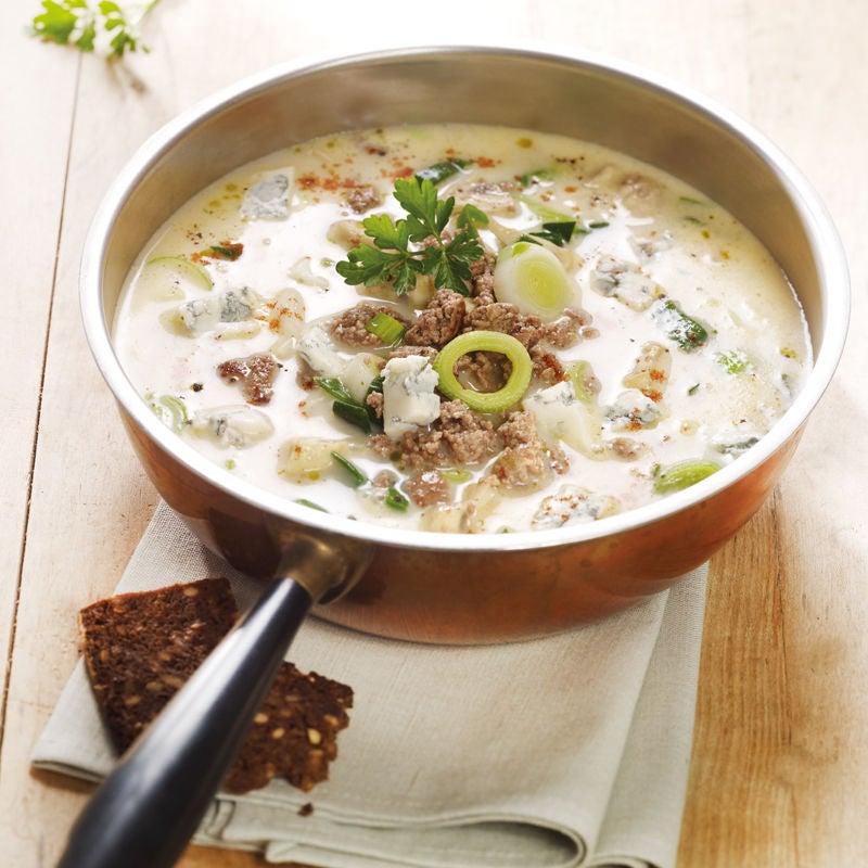 Photo de Soupe de poireaux au gorgonzola prise par WW