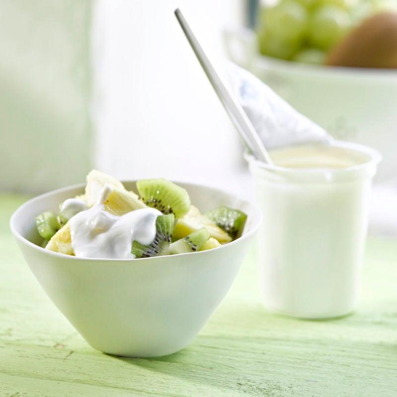 Foto Kickstarter-Joghurt mit Ananas und Kiwi von WW