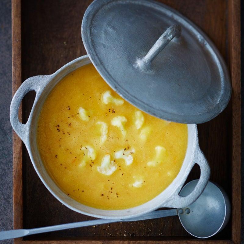 Foto Linsen-Blumenkohl-Suppe von WW