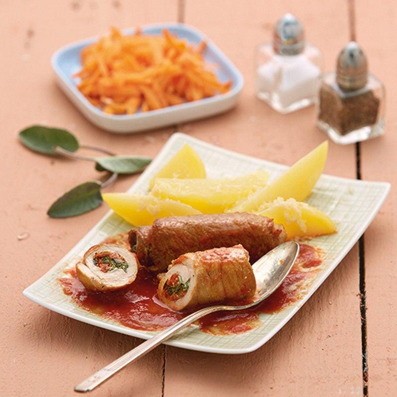 Photo de Involtini et pommes de terre au parmesan prise par WW