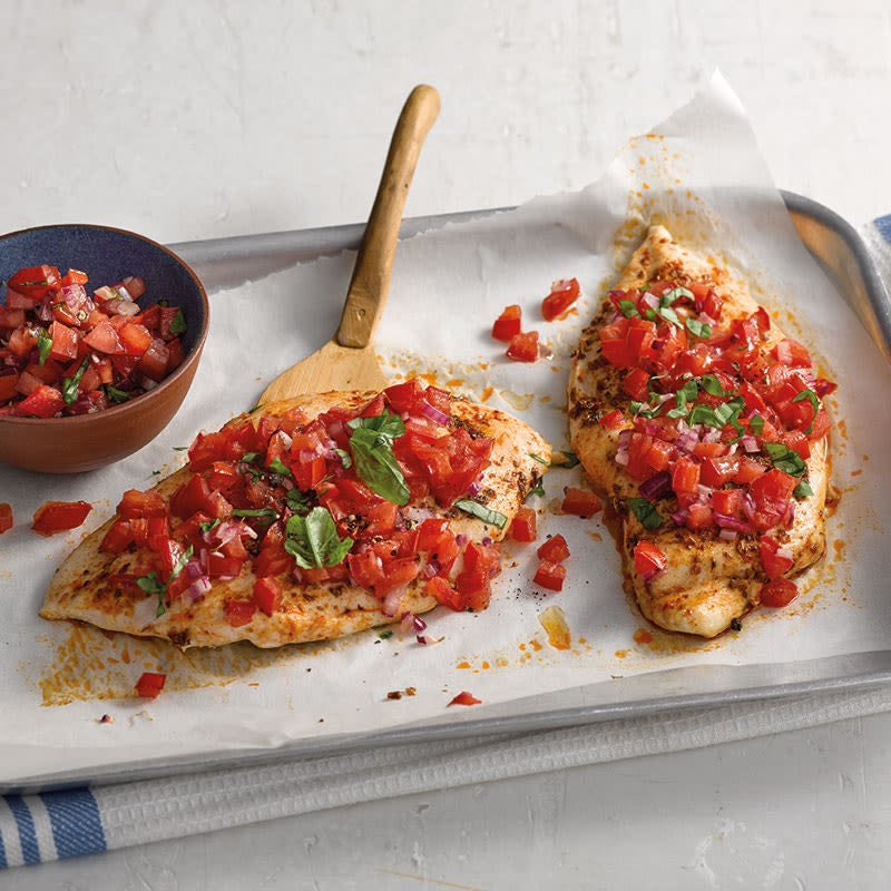Photo de Bruschetta au poulet prise par WW