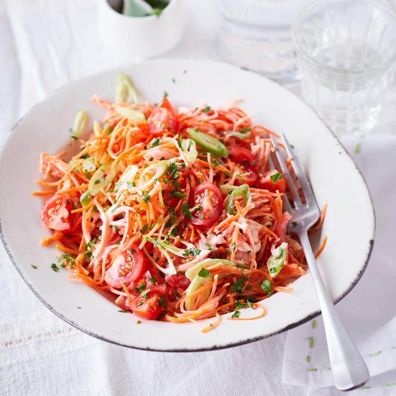 Photo de Salade de carottes et de tomates prise par WW