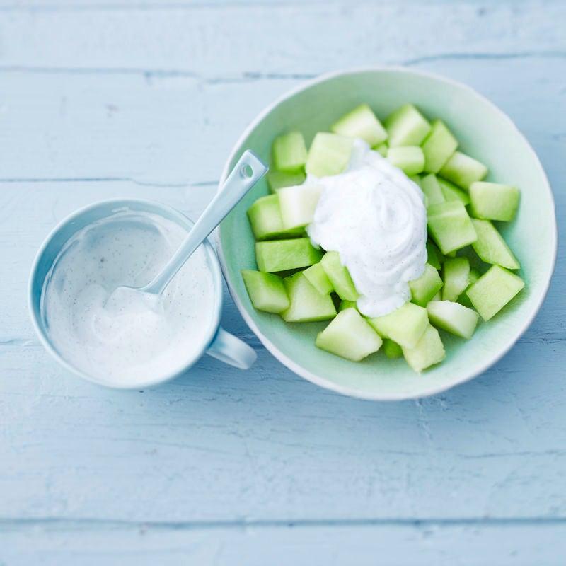 Foto Cremiger Joghurt mit Melone von WW